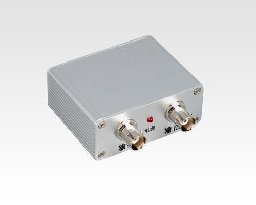 将视频信号移到高频,避开干扰频率,增加物理隔离电路,在接收端还原成